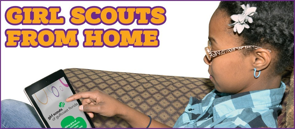 Girl Scouts From Home LG HERO